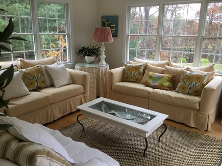 Brewster, Chatham/Orleans Cape Cod vacation rental - The bright, relaxing Sun Room