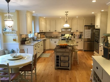 Brewster, Chatham/Orleans Cape Cod vacation rental - The modern, fully-equipped Kitchen with granite counters