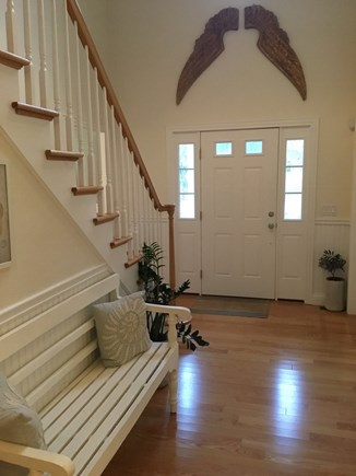 Brewster, Chatham/Orleans Cape Cod vacation rental - The front door opens only a bright, airy Entryway