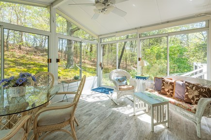 Chatham Cape Cod vacation rental - Sunroom...everyone loves this room!