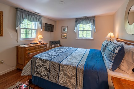Chatham Cape Cod vacation rental - Master bedroom with TV