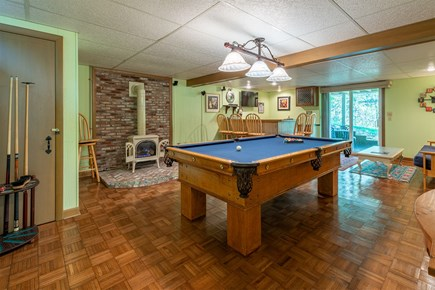 Chatham Cape Cod vacation rental - Pool table...ping pong and air hockey too!!