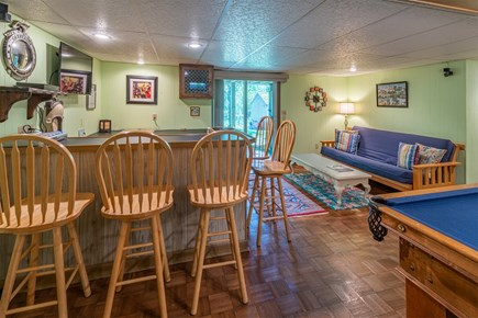 Chatham Cape Cod vacation rental - Bar area with futon