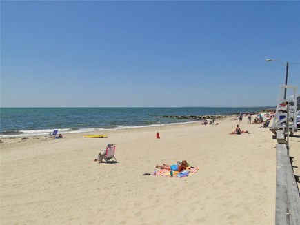 Dennisport Cape Cod vacation rental - Facing west at Glendon Road Beach (on Nantucket Sound)