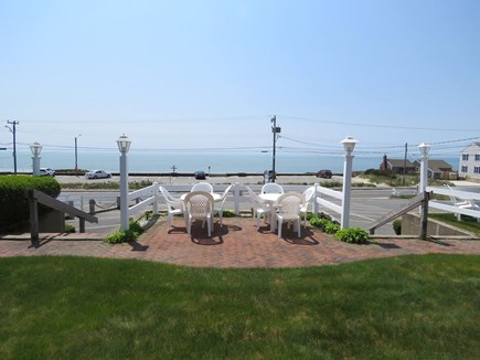 Dennisport Cape Cod vacation rental - A high view of Glendon Road Beach. Just across Old Wharf Road