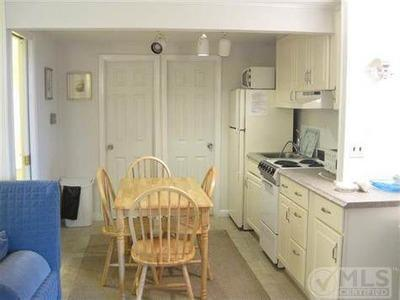 Dennisport Cape Cod vacation rental - Dining and kitchen area