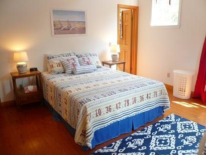 Truro Cape Cod vacation rental - Bedroom with Full Bath above Apartment with attached full bath