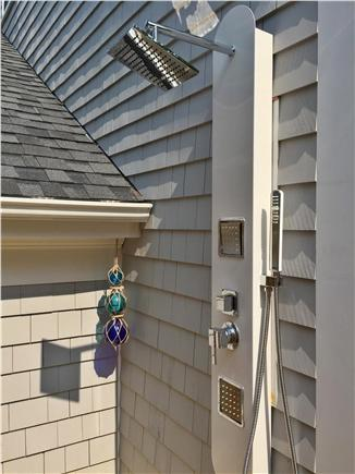Truro Cape Cod vacation rental - Outdoor showers are the best!