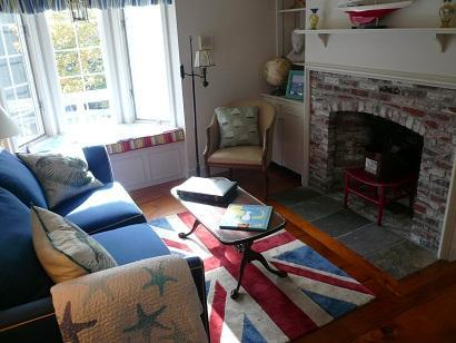 Truro Cape Cod vacation rental - Den Between Two of the Bedrooms upstairs with pullout sofa