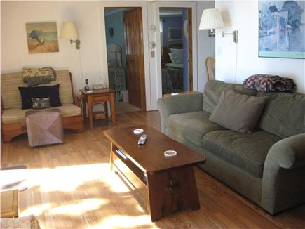 W. Yarmouth Cape Cod vacation rental - Living Room looks out over Swan Pond