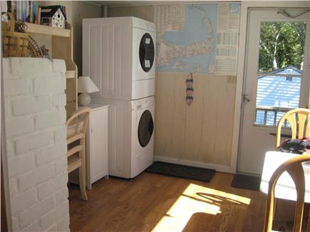 W. Yarmouth Cape Cod vacation rental - Side room with Washer/Dryer
