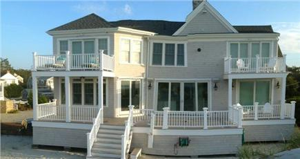 Dennis Cape Cod vacation rental - The Rear of the Home facing Cape Cod Bay