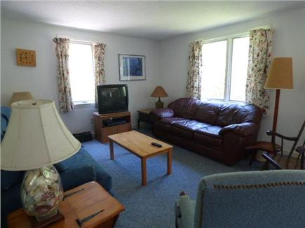 Dennis Cape Cod vacation rental - Living room with TV