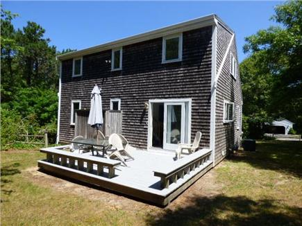 Dennis Cape Cod vacation rental - Back Deck with outside shower