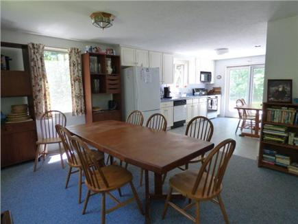 Dennis Cape Cod vacation rental - Dining room open to kitchen