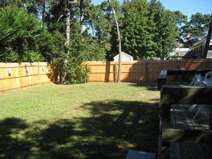 Dennisport Cape Cod vacation rental - Large fenced in yard