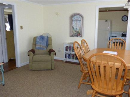 Dennisport Cape Cod vacation rental - Other view of Living room/dining area