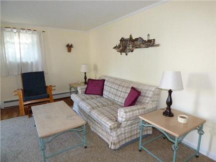 Dennisport Cape Cod vacation rental - Living room view of cottage # 1