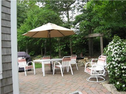 Yarmouthport Cape Cod vacation rental - Large open patio and back yard