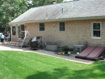 Yarmouthport Cape Cod vacation rental - Spacious back yard