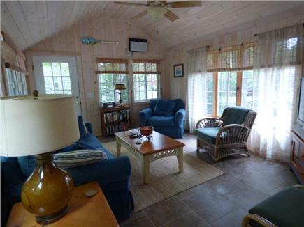 Yarmouthport Cape Cod vacation rental - Inviting new family room addition