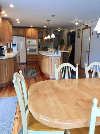 South Chatham Cape Cod vacation rental - Dining Room & Kitchen Area