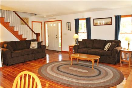 South Chatham Cape Cod vacation rental - Living Room from Dining Table