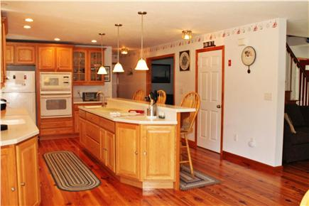 South Chatham Cape Cod vacation rental - Kitchen from Dining Room Area