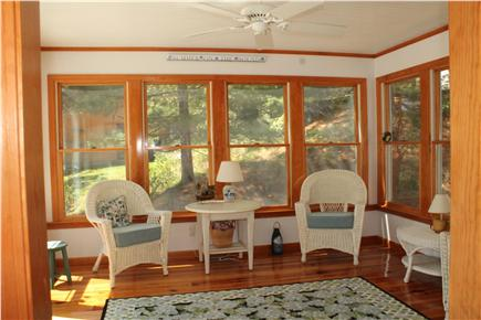 South Chatham Cape Cod vacation rental - Sunroom