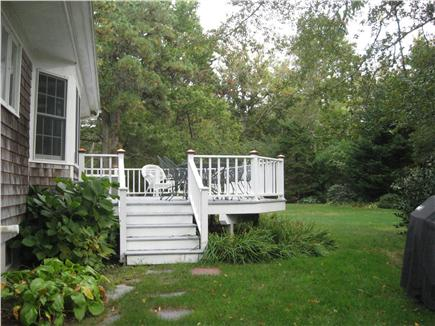 Dennis Cape Cod vacation rental - Kitchen opens to dining room and sitting area