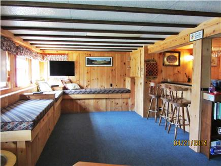 Eastham Cape Cod vacation rental - Lower Level Rec Room/ Bar