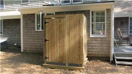 North Eastham Cape Cod vacation rental - Roomy outdoor shower