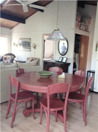 Wellfleet Cape Cod vacation rental - Dining Room Table