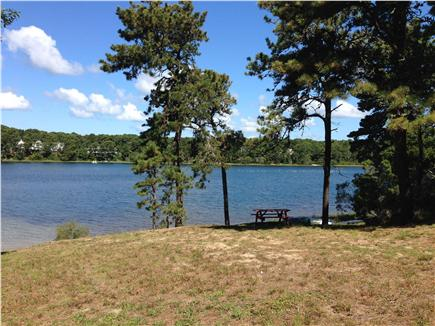 Chatham Cape Cod vacation rental - Picnic Area overlooking White Pond