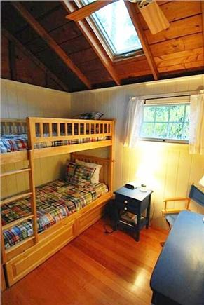Chatham Cape Cod vacation rental - Bunk room from window
