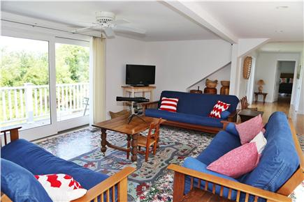 Brewster Cape Cod vacation rental - Upstairs family room with futons