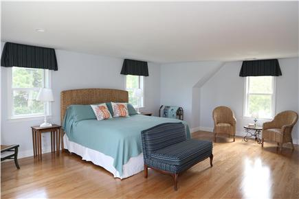Brewster Cape Cod vacation rental - 2nd floor master bedroom with bathroom off camera