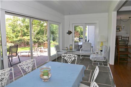 Brewster Cape Cod vacation rental - Enclosed porch