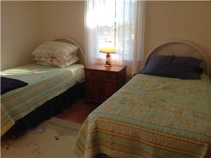 East Harwich Cape Cod vacation rental - Twin beds-Bedroom 2