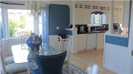 East Dennis Cape Cod vacation rental - Kitchen-dining area with modern appliances
