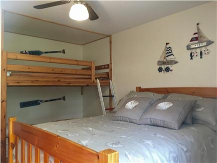 West Yarmouth Cape Cod vacation rental - 3rd Bedroom: Bunk Beds and Full size Bed