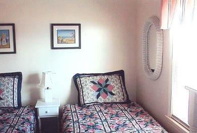 Dennis Port Cape Cod vacation rental - 2nd Bedroom with two twin beds