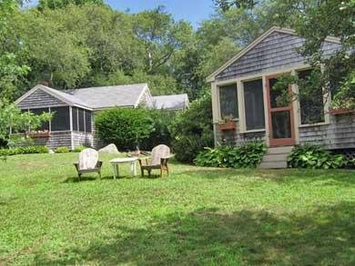 West Barnstable Cape Cod vacation rental - Front view. Cottage next door may also be available for rent.