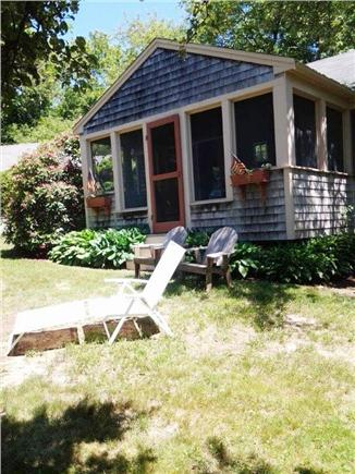 West Barnstable Cape Cod vacation rental - Cottage front yard for relaxing!