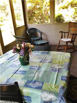 West Barnstable Cape Cod vacation rental - Screened porch for games, dining or just for fun!