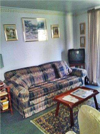 West Barnstable Cape Cod vacation rental - Living room with TV