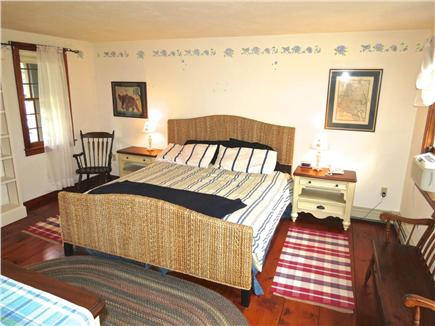 Brewster Cape Cod vacation rental - The master bedroom is in its own wing and has a King bed
