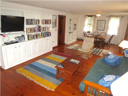 Brewster Cape Cod vacation rental - The TV room is off the kitchen and has a TV and game table