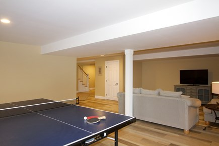 Brewster Cape Cod vacation rental - Ping pong table in lower level area