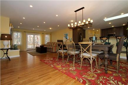 Brewster Cape Cod vacation rental - Open Dining/Living/Kitchen